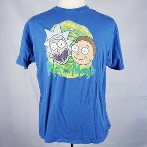 Vtg Mens Rick & Morty XL Adult Swim Graphic TShirt